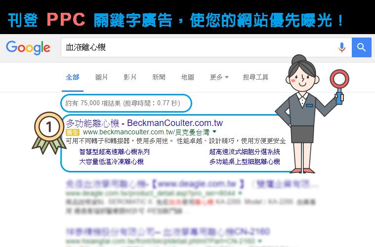 PPC關鍵字廣告公司